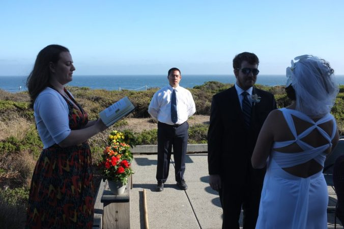 Marrying two friends from college.