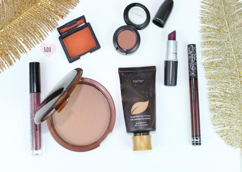 Fall beauty basics, Matte makeup products, Tarte, Estee Lauder, Stila, Liquid Lipstick, Vampira, Amore, Rebel, MAC, Kat Von D, NARS Persia