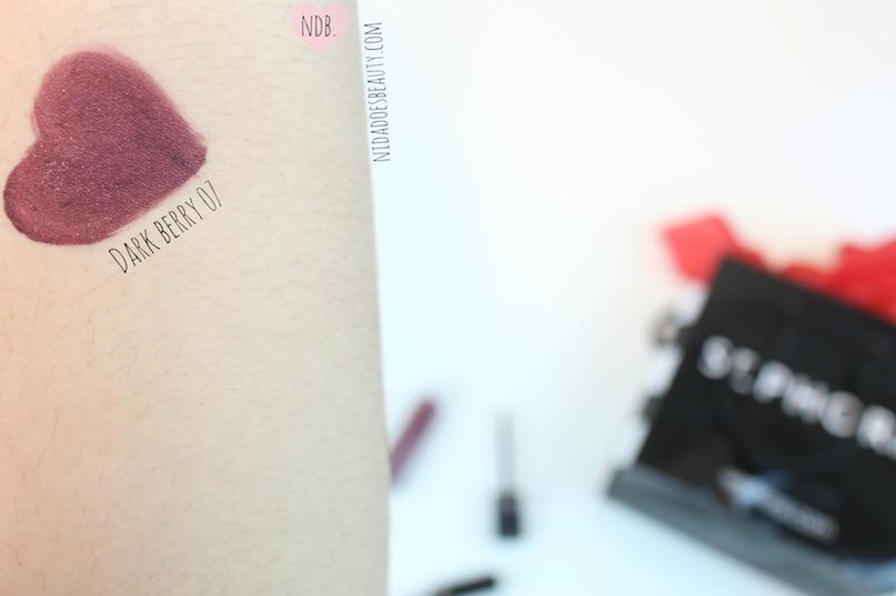 Sephora's Dark Berry 07 Cream Lip Stain