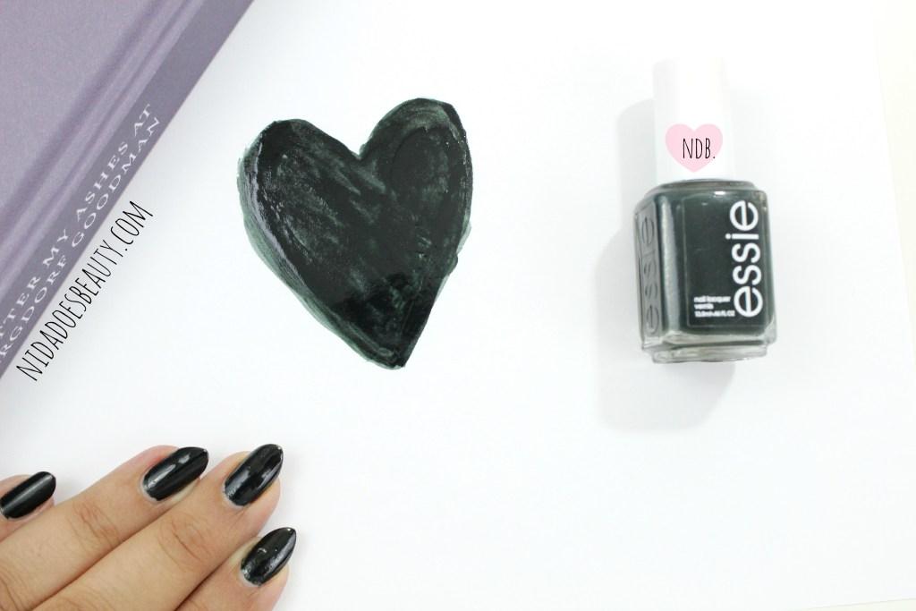 Essie Stylenomics, beauty, blog, essie, nails, swatch, winter nails, dark nails, nail polish