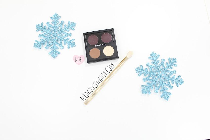 MAC quad, Sketch, Deep Damson, Nylon, Saddle, Swatches, MAC, Makeup, Beauty, winter makeup, winter products, winter beauty