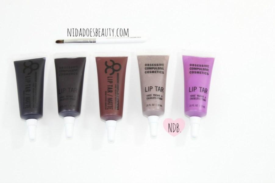 Review, Makeup Reviews, Rating, OCC lip tar, OCC lip tar review, OCC sebastian, OCC Anita, OCC Hoochie, OCC Black Dahlia, OCC Pagan, Dark lips, lipstick reviews