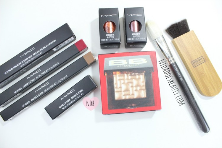MAC, MAC Haul, Bobbi Brown Haul, Makeup Haul, Beauty Haul, Everyday Minerals Itahake, MAC brush, MAC glitter, MAC lip liner, MAC beet, MAC Stripdown, beauty, beauty blog, makeup