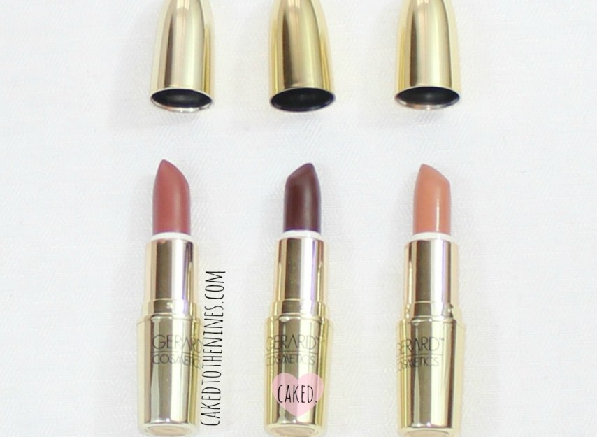Gerard Cosmetics Lipstick Review, 1995, Cherry Cordial, and Nude, Worth the hype, Gerard review, beauty blog