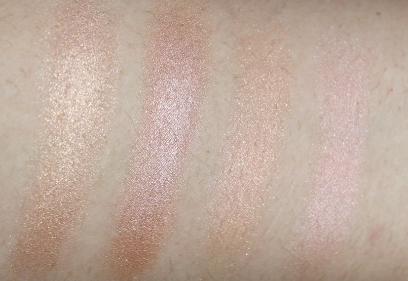 Colourpop review, colourpop highlighters, colourpop highlighter review,  Butterfly Beach, Highly Waisted, Teasecake, beauty review, highlgihter review