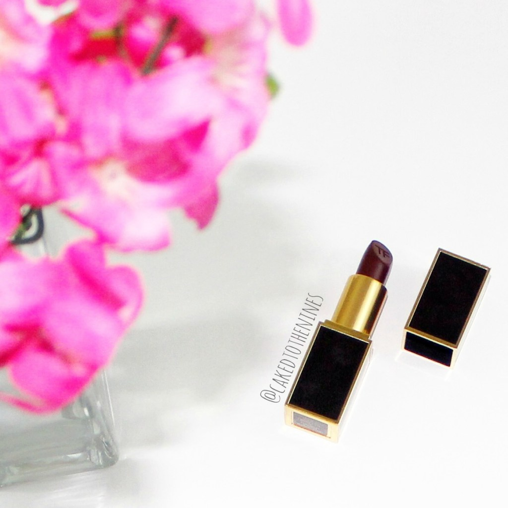 Tom Ford Black Dahlia lipstick  review