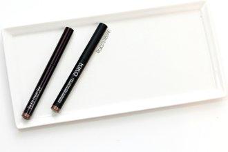 Laura Mercier Amethyst Eyeshadow Stick vs Kiko 05 Eyeshadow Stick, laura mercier amethyst dupe