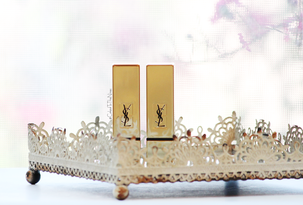 YSL Rouge Pur Couture Lipsticks #9 and #19, YSL Rouge Pur Couture Lipsticks #9 and #19 review