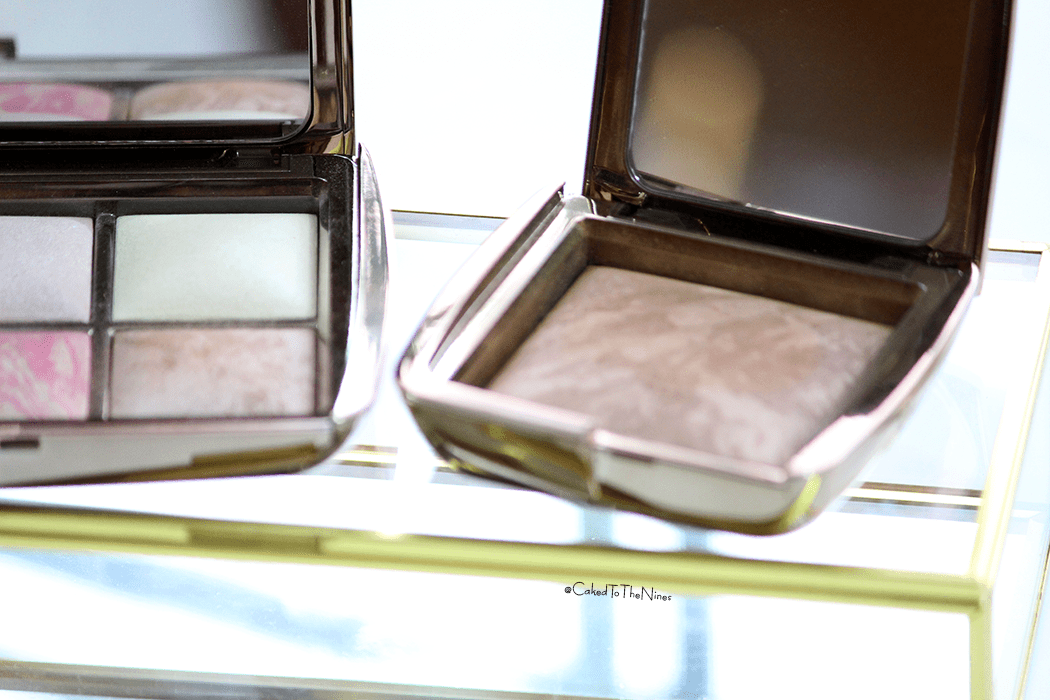 Hourglass Radiant Bronze Light and Luminous Bronze Light comparison, hourglass bronzers, hourglass bronzer difference