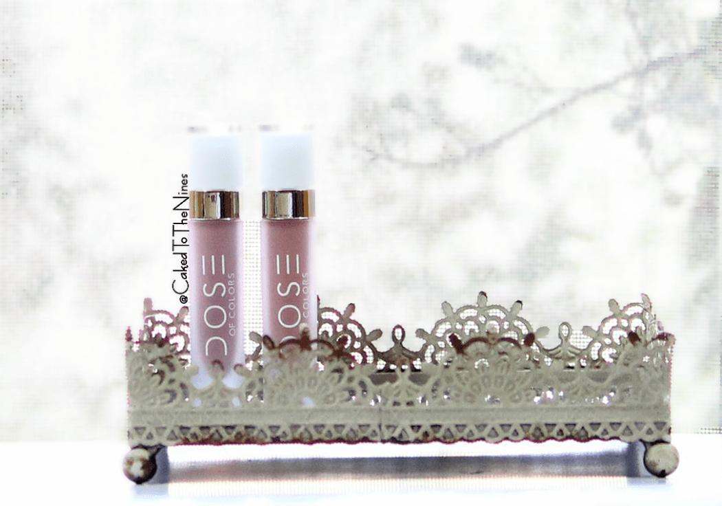 Dose of Colors Stone and Truffle Liquid Lipsticks, review, dose of colors stone, dose of colors truffle