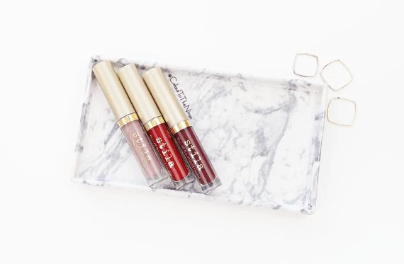 Stila Eternal Love liquid lipstick set, Baci, Beso, Ricco
