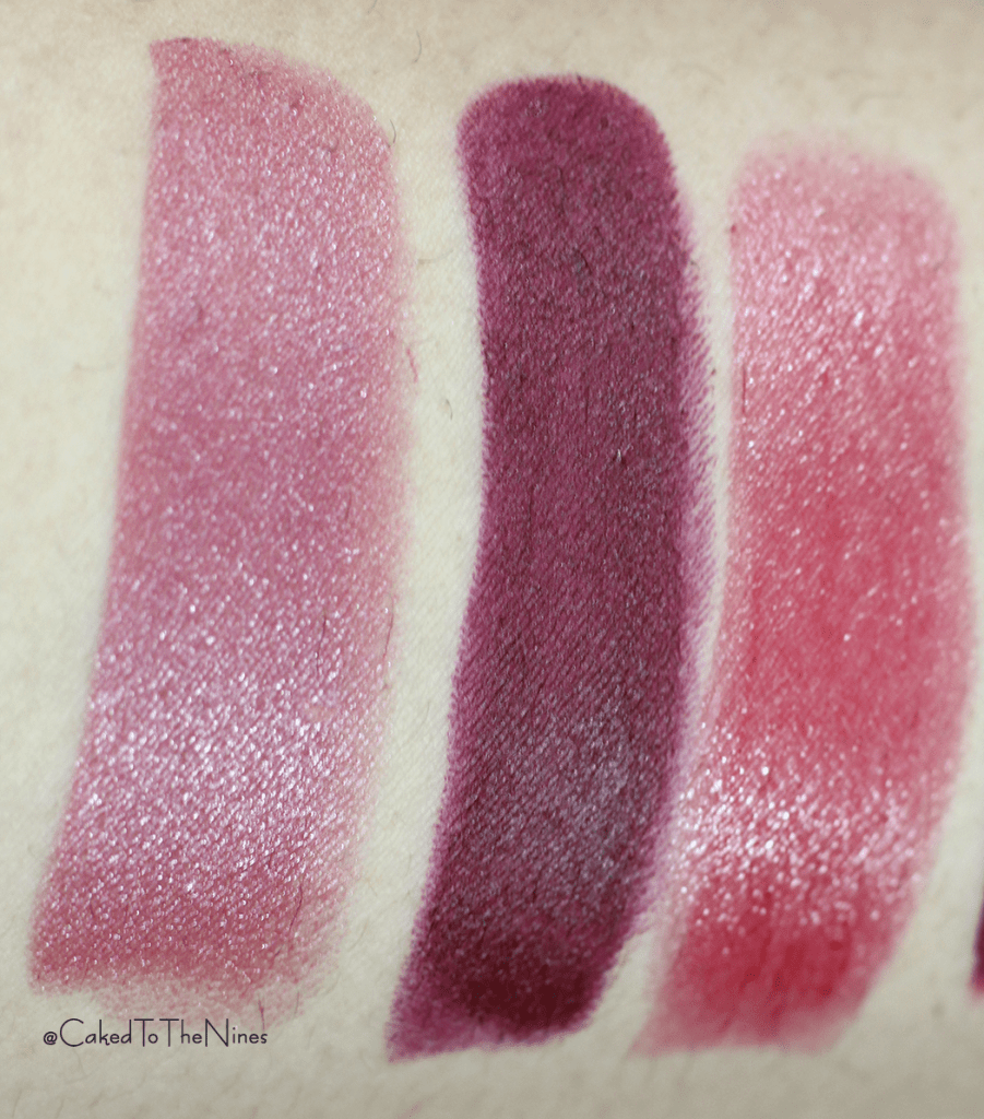 Lipsticks To Try This Holiday Season, holiday lipsticks, YSL Rouge Pur Couture #9 Rose Stlletto, Tom Ford Black Dahlia, YSL Rouge Volutpe Shine #04 Rouge in Danger, ColourPop More Better, ColourPop Bad Habit, Dose of Colors Stone, YSL Tint-in-Oil #5 Cherry My Cherie, holiday lipsticks
