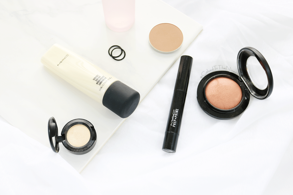 6 MAC must have products for Indian skin featuring Strobe Cream, Nylon eyeshadow, Prep + Prime highlighter, Warm Soul, Sculpt pro, Fix +