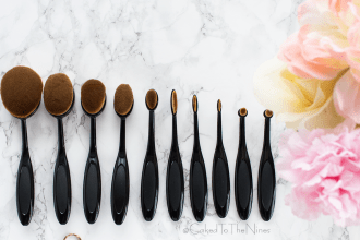 Are oval makeup brushes worth the hype? An Artis brush dupe set from eBay