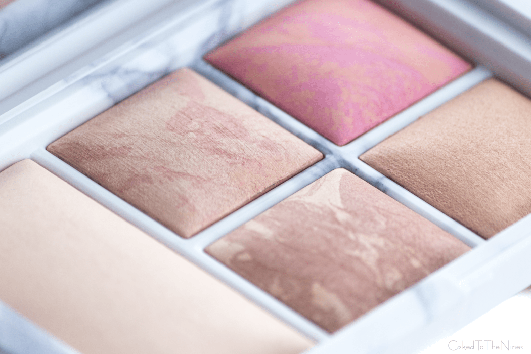 A close up of the Hourglass Surreal Light Palette