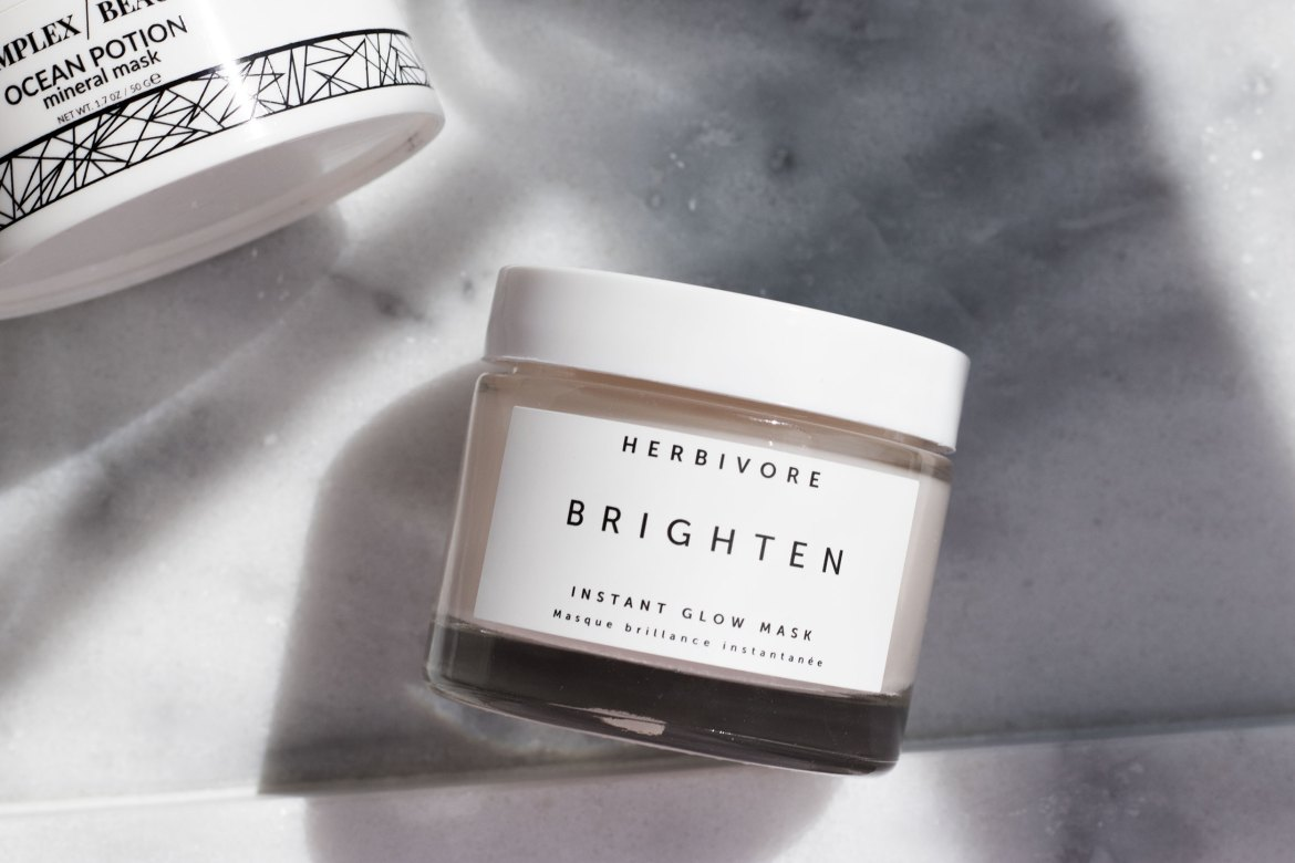 Herbivore Botanicals Brighten face mask