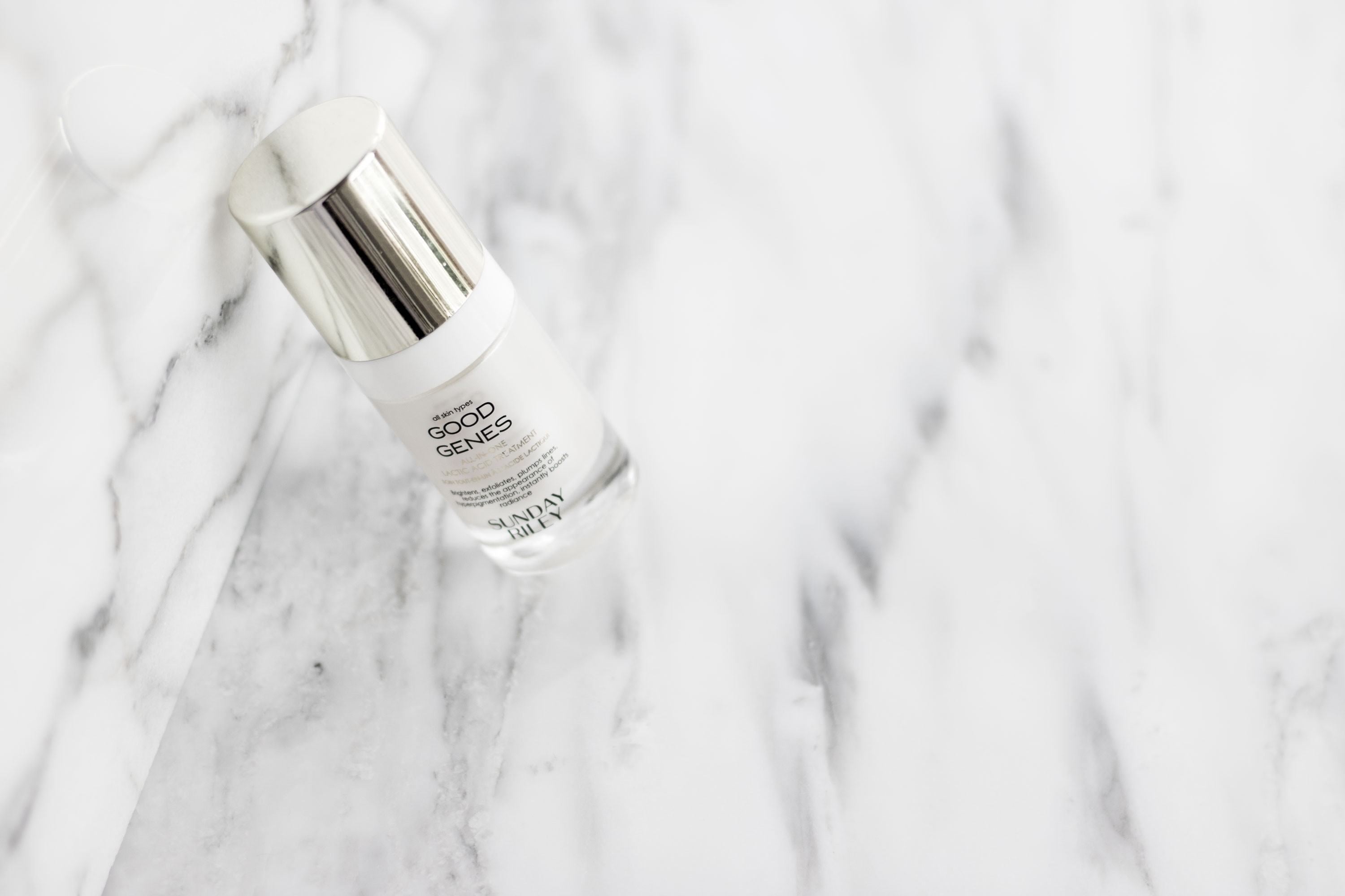 cult beauty products worth the cult status- Sunday Riley Good Genes lactic acid