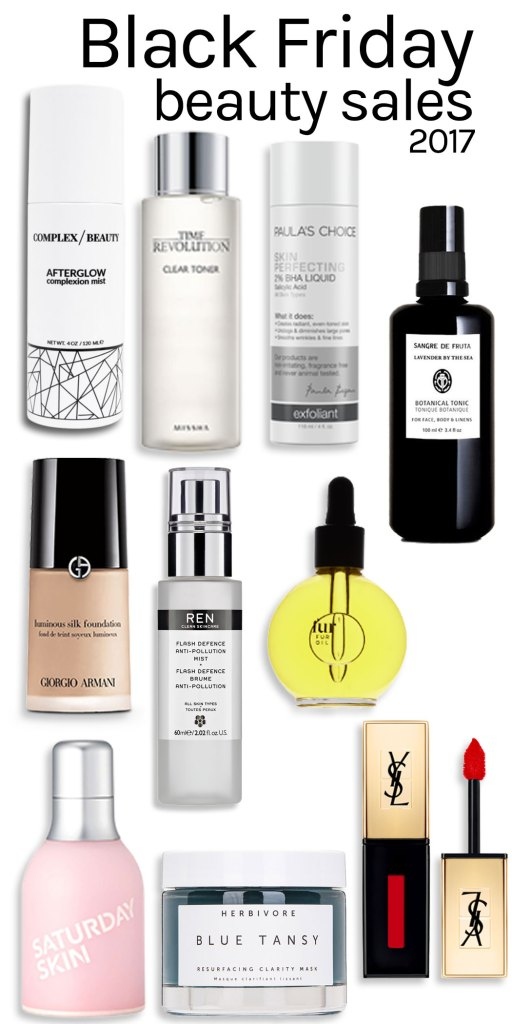 Black Friday beauty sales 2017 indie skincare and makeup