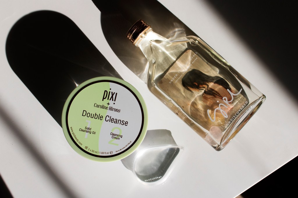 Pixi Double Cleanse, Girl Undiscovered Cleansing Water, Makeup Drop