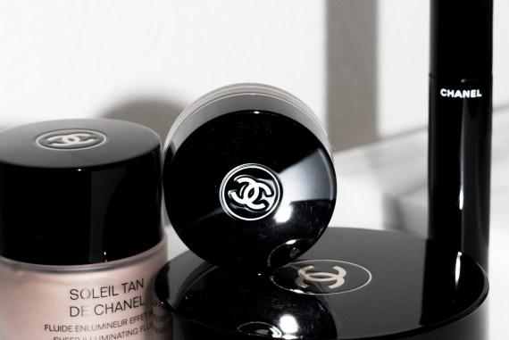 Chanel makeup worth the hype | Chanel Soleil Tan De Chanel Bronzer, Chanel Soleil Tan De Chanel Illuminating fluid, Chanel volume mascara, Chanel mirage eyeshadow