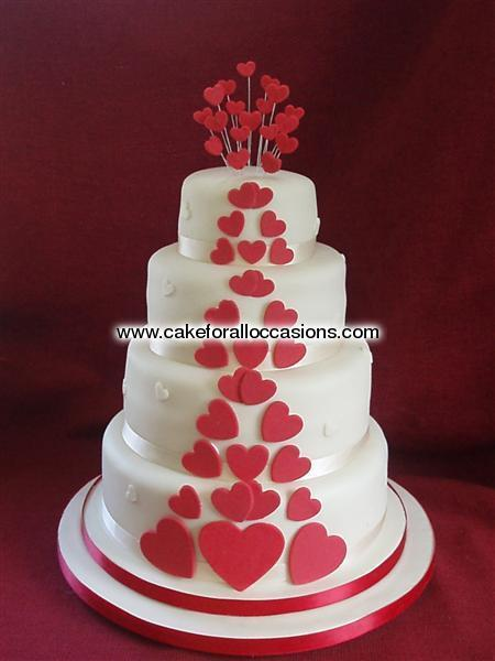 Cake WCD040 Wedding Cakes Cake Library Cake For