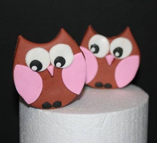 How To Make An Owl Cake Topper Cakejournal Com