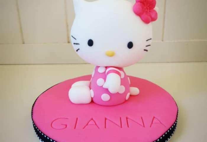How To Make A Hello Kitty Cake Topper