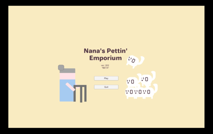 Nana's Pettin' Emporium Dev Blog 03 | Beta Polish…