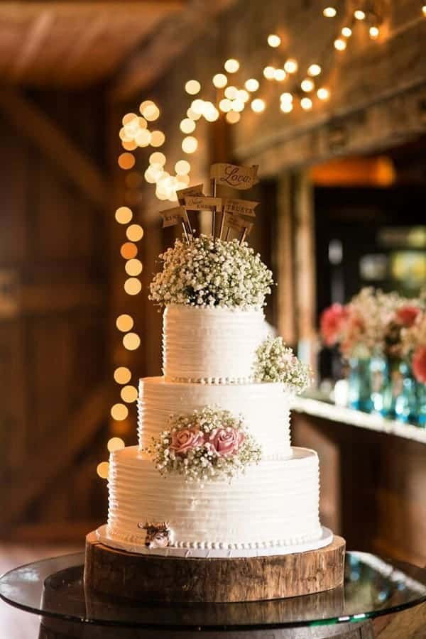Wedding Cake Decorating Ideas Perfect For Rustic