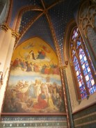A side altar in the cathedral