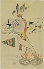 Cadavre Exquis-Yves Tanguy, Joan Miro, Max Morise & Man Ray