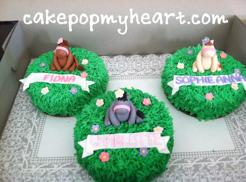 HorsePony Theme Cake Pop My Heart