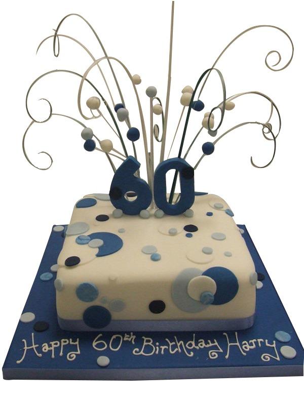 60th Birthday For Men Cake