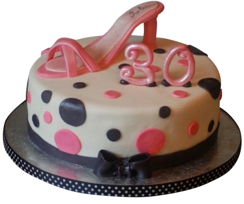 Adult Cakes Female 30th