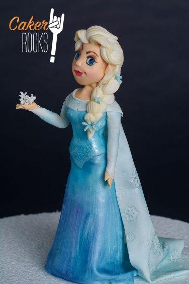 Modelado en azúcar Frozen