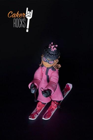 Modelado en azúcar Ski