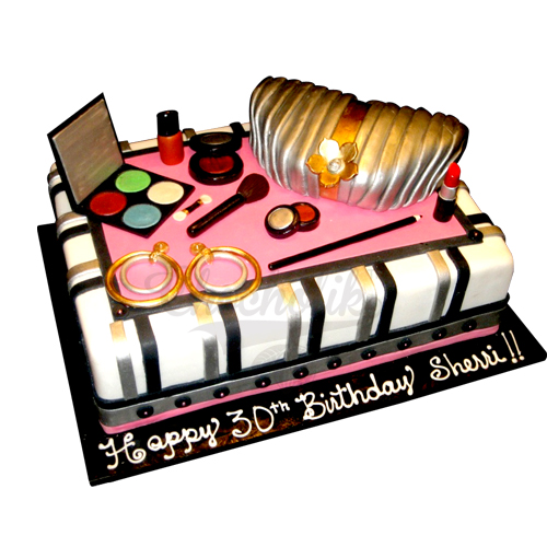 Make Up Kit Cake