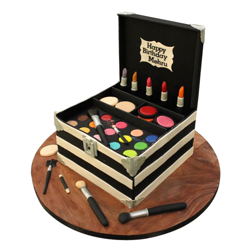 Makeup Kit Cake Design : Makeup Kit Cake Chandigarh Cakes Delivery - Home ...