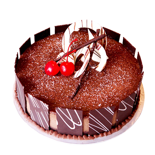 Cute Chocolate Birthday Cake Chandigarh Cakes Delivery Home
