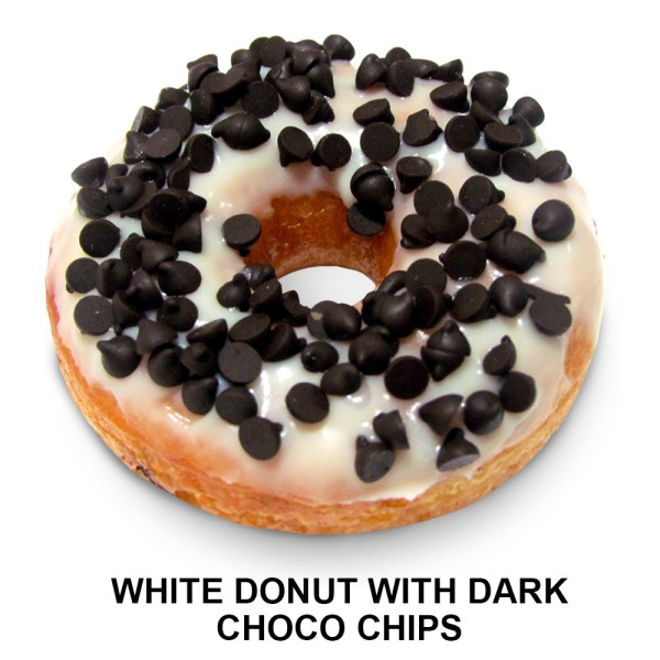 White-Donut-with-Dark-Choco-Chips