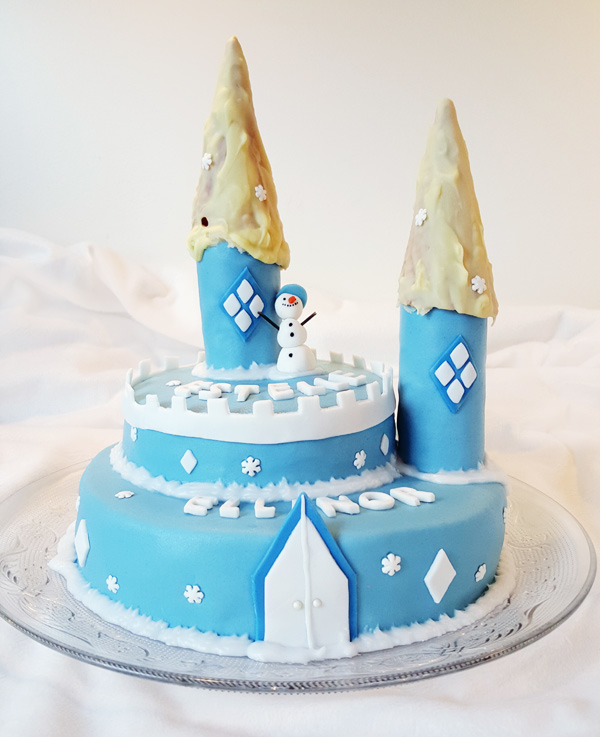 Slottstårta - castle cake