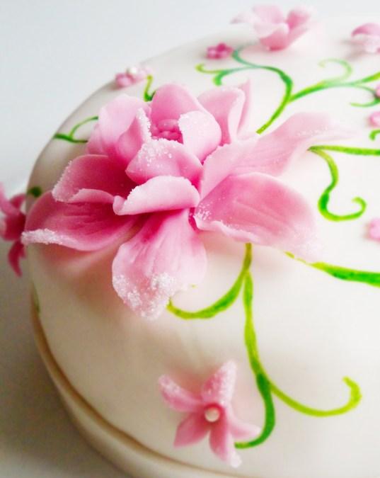 Blomstertårta