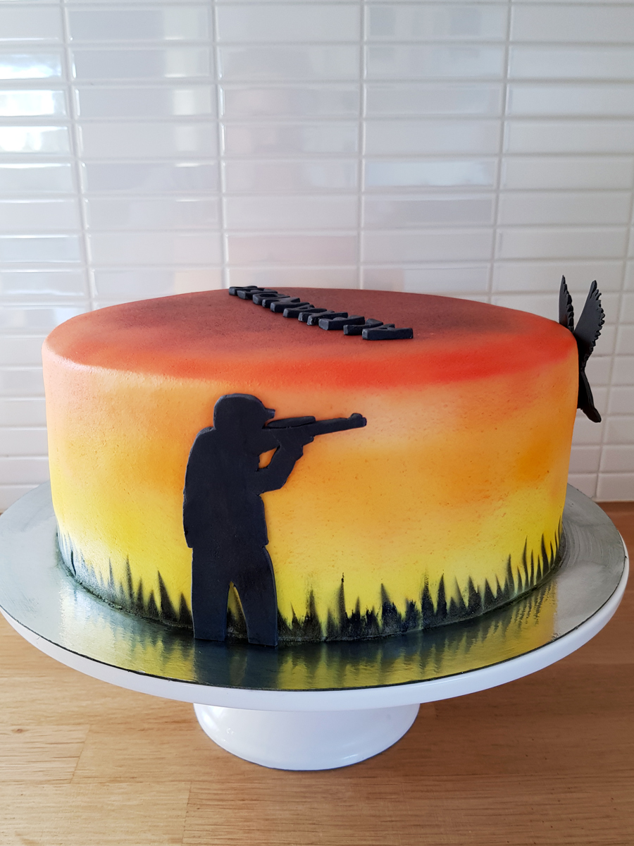 Hunting cake - jakttårta