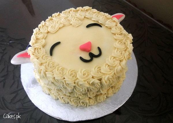 Cutest Lamb Cake Ever Cakes Pk