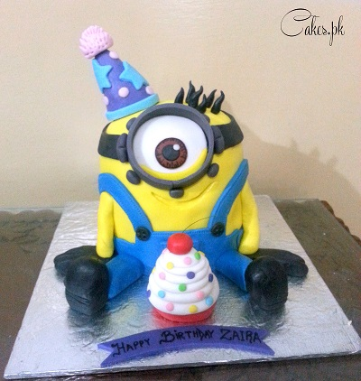 kevin minion cake 36 63 120 09 sculpted minion cake named kevin ...