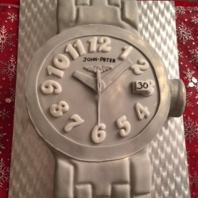 30th Birthday wrist watch cake