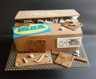 Ikea doos taart