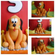 Edible Pluto figurine