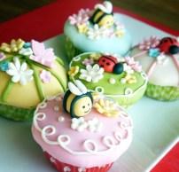 Zomer cupcakes 1,75/stuk