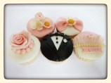 Wedding cupcakes 2 euro/stuk